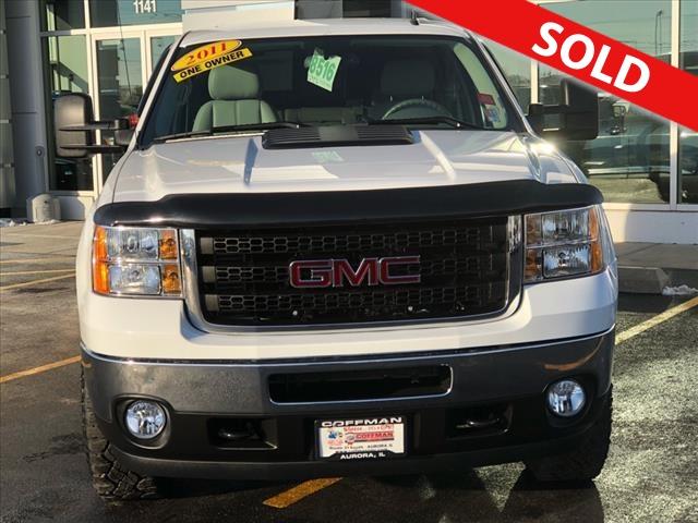 2011 GMC Sierra 2500HD  - Coffman Truck Sales