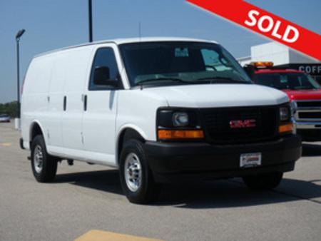 2017 GMC Savana Cargo Van 3500 for Sale  - 2970  - Coffman Truck Sales
