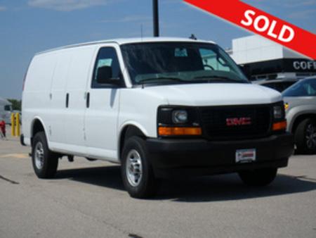 2017 GMC Savana Cargo Van 3500 for Sale  - 2980  - Coffman Truck Sales