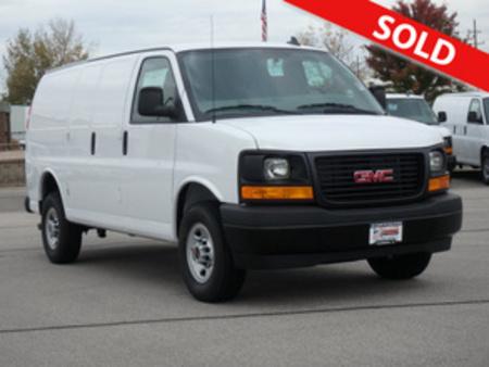 2017 GMC Savana Cargo Van 3500 for Sale  - 3070  - Coffman Truck Sales