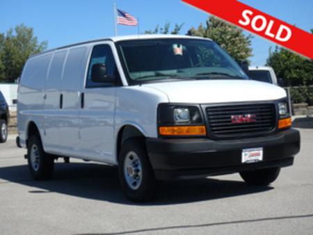 2017 GMC Savana Cargo Van 3500 for Sale  - 3056  - Coffman Truck Sales