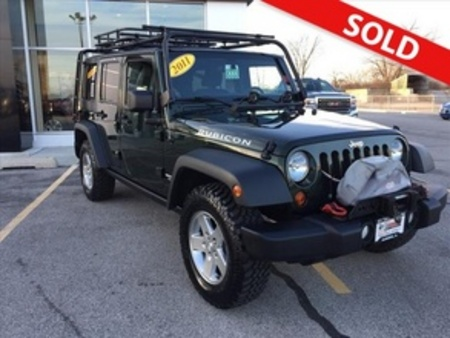 2011 Jeep Wrangler Rubicon for Sale  - 8333  - Coffman Truck Sales