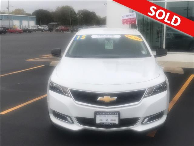 2015 Chevrolet Impala  - Coffman Truck Sales