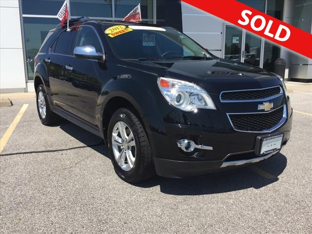 2012 chevrolet equinox ltz stock 8308 aurora il 60507. Black Bedroom Furniture Sets. Home Design Ideas