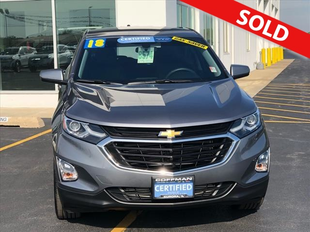 2018 Chevrolet Equinox  - Coffman Truck Sales