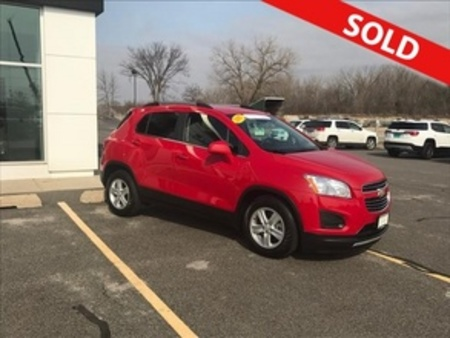 2015 Chevrolet Trax LT for Sale  - 8342  - Coffman Truck Sales