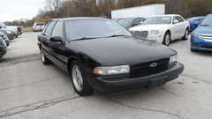 1996 Chevrolet Caprice Classic/Caprice Police/Taxi Pkgs/Impala SS CLAS
