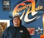 Jonathan Eudave Working as Salesman at Country Auto