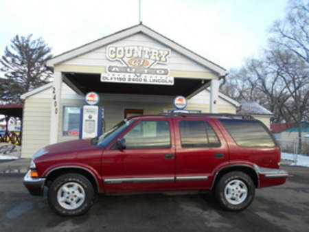 1999 Chevrolet Blazer LS 4WD for Sale  - 6665  - Country Auto