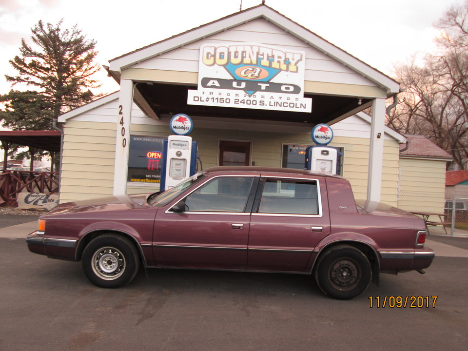 1990 Dodge Dynasty  - Country Auto
