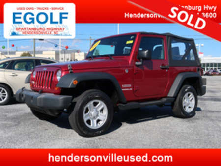 2013 Jeep Wrangler Sport 4WD for Sale  - 7579  - Egolf Motors