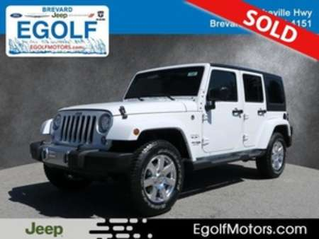 2018 Jeep Wrangler JK Unlimited Sahara for Sale  - 21607  - Egolf Motors