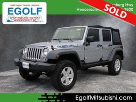 2014 Jeep Wrangler Unlimited Rubicon Off Road Rea 4WD for Sale  - 7564A  - Egolf Motors