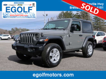 2019 Jeep Wrangler Sport for Sale  - 21748  - Egolf Motors