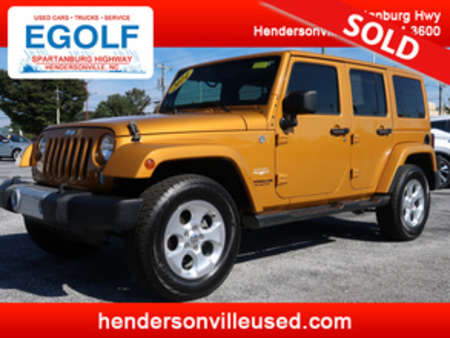 2014 Jeep Wrangler Sahara 4WD for Sale  - 7568  - Egolf Motors