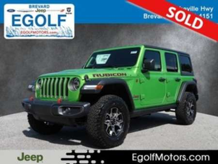 2019 Jeep Wrangler RUBICON 4X4 for Sale  - 21777  - Egolf Motors