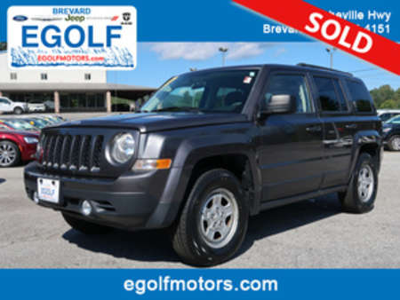 2015 Jeep Patriot Sport 4WD for Sale  - 21641A  - Egolf Motors