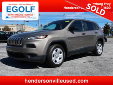 2016 Jeep Cherokee Sport for Sale  - 7585  - Egolf Motors