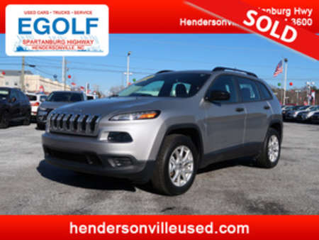 2015 Jeep Cherokee Sport Local Trade! 4X4! 4WD for Sale  - 7572A  - Egolf Motors