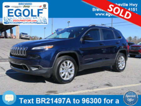 2014 Jeep Cherokee Limited for Sale  - 21497A  - Egolf Motors