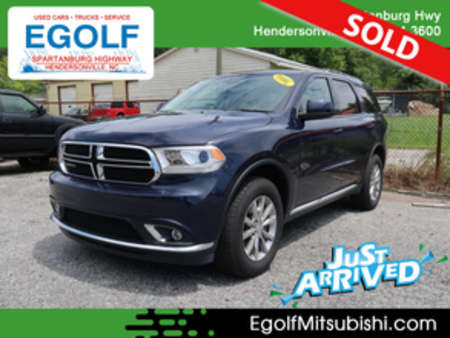 2018 Dodge Durango SXT AWD for Sale  - 10811  - Egolf Motors