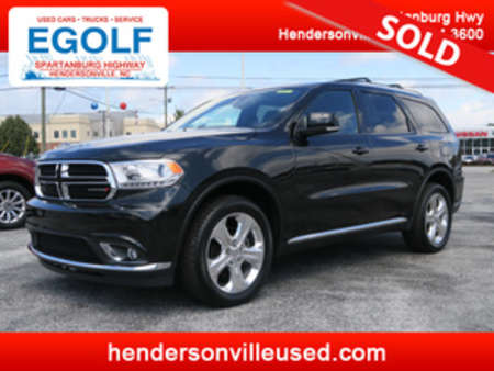 2015 Dodge Durango Limited AWD for Sale  - 7550  - Egolf Motors