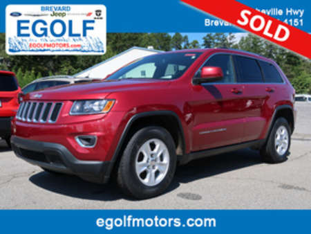 2015 Jeep Grand Cherokee Laredo 4WD for Sale  - 82260  - Egolf Motors