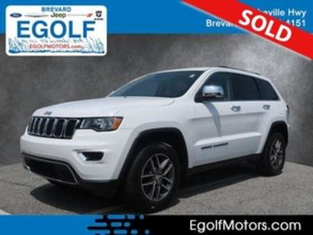 2017 Jeep Grand Cherokee Limited for Sale  - 21758A  - Egolf Motors