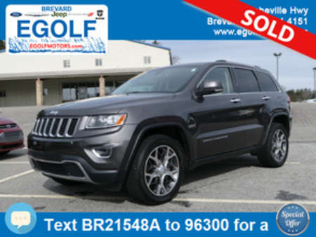 2014 Jeep Grand Cherokee Limited for Sale  - 21548A  - Egolf Motors
