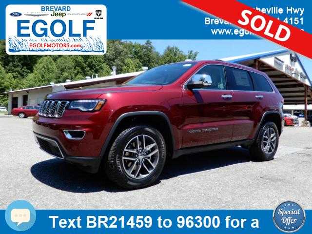 2017 jeep grand cherokee limited stock 21459 brevard nc for Egolf motors used cars
