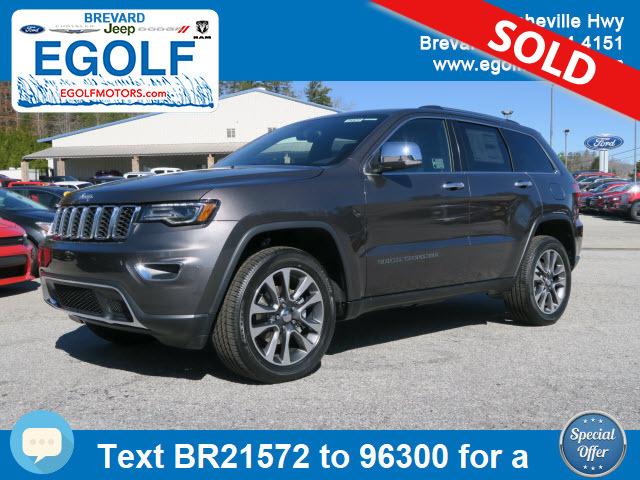 2018 jeep grand cherokee limited stock 21572 brevard nc for Egolf motors hendersonville nc