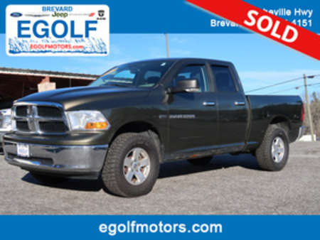 2012 Ram 1500 SLT 4x4 4WD Quad Cab for Sale  - 4974B  - Egolf Motors