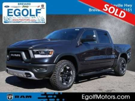 2019 Ram 1500 Rebel Crew Cab for Sale  - 21681  - Egolf Motors