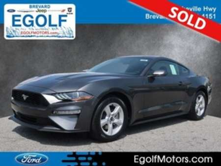 2019 Ford Mustang ECOBOOST FASTBACK for Sale  - 5107  - Egolf Motors