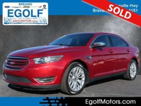 2017 Ford Taurus Limited LOADED! for Sale  - 10751  - Egolf Motors