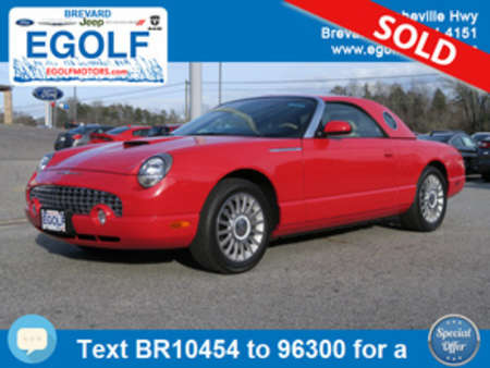 2005 Ford Thunderbird Deluxe for Sale  - 10454  - Egolf Motors