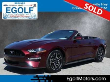 2018 Ford Mustang EcoBoost Premium for Sale  - 10773  - Egolf Motors