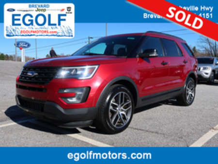 2016 Ford Explorer Sport 4WD for Sale  - 10712  - Egolf Motors