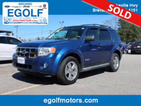 2008 Ford Escape XLT for Sale  - 5091A  - Egolf Motors