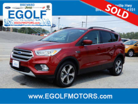 2017 Ford Escape SE for Sale  - 10528  - Egolf Motors