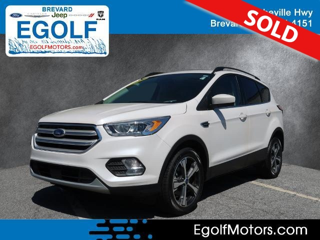 2018 ford escape sel stock 4903 brevard nc for Egolf motors used cars