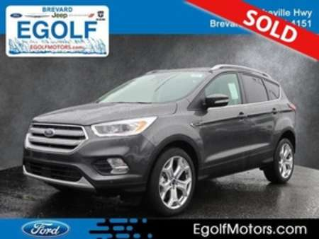 2019 Ford Escape Titanium 4WD for Sale  - 5065  - Egolf Motors