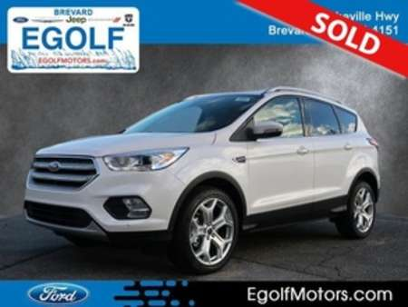 2019 Ford Escape Titanium 4WD for Sale  - 5059  - Egolf Motors