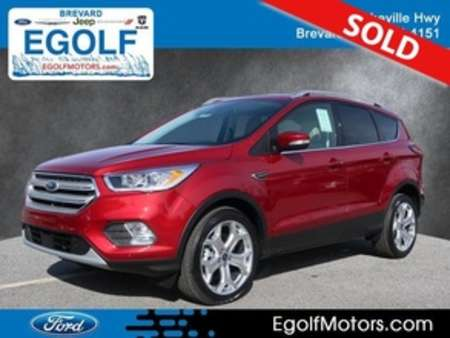 2019 Ford Escape Titanium 4WD for Sale  - 5095  - Egolf Motors