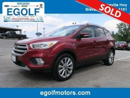 2017 Ford Escape Titanium 4WD for Sale  - 10670  - Egolf Motors