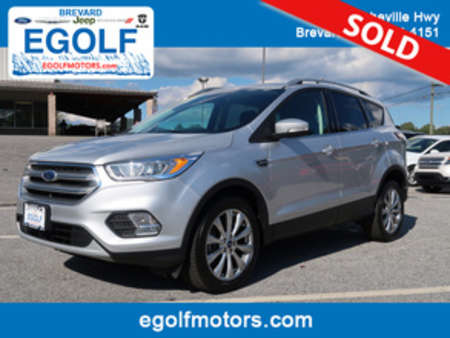 2017 Ford Escape Titanium 4WD for Sale  - 10671  - Egolf Motors