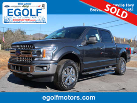 2019 Ford F-150 XLT 4WD SuperCrew for Sale  - 5052  - Egolf Motors