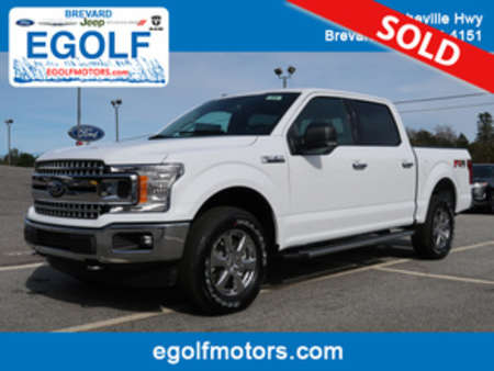 2018 Ford F-150 XLT FX4 4WD SuperCrew for Sale  - 5038  - Egolf Motors