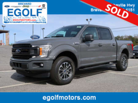 2018 Ford F-150 XLT FX4 4WD SuperCrew for Sale  - 5027  - Egolf Motors