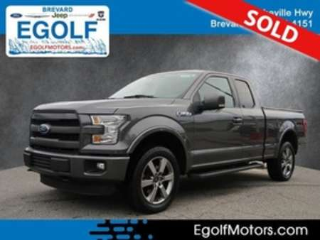 2015 Ford F-150 Lariat 4x4 4WD SuperCab for Sale  - 10739  - Egolf Motors